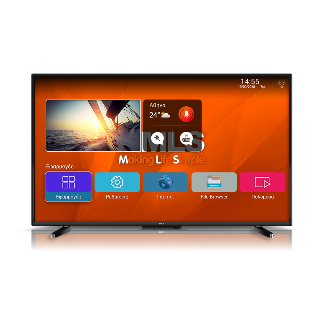 MLS SuperSmart TV 32 2018