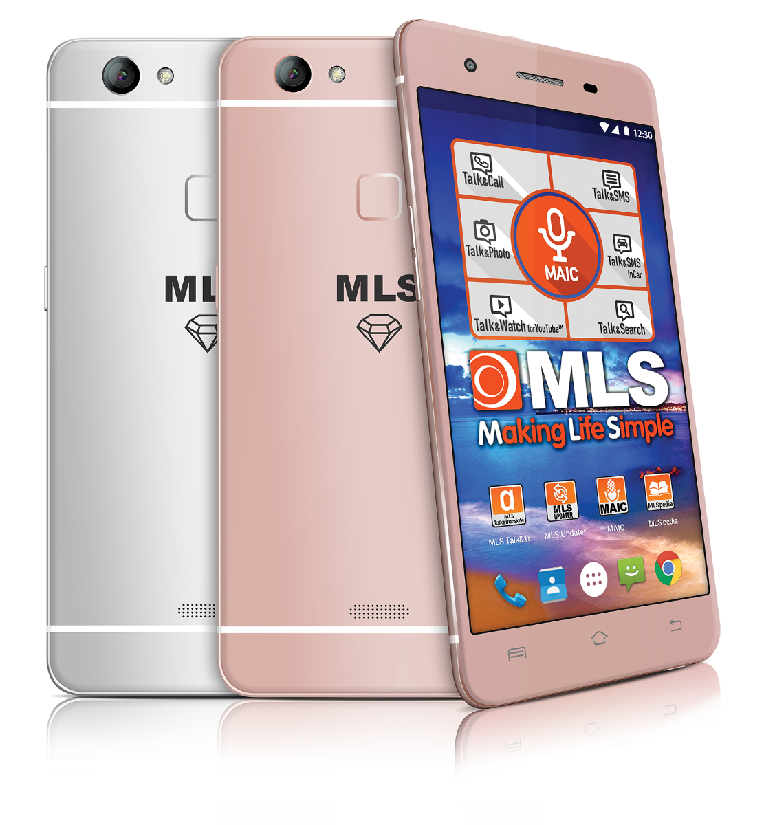 MLS Diamond Fingerprint TS 4G