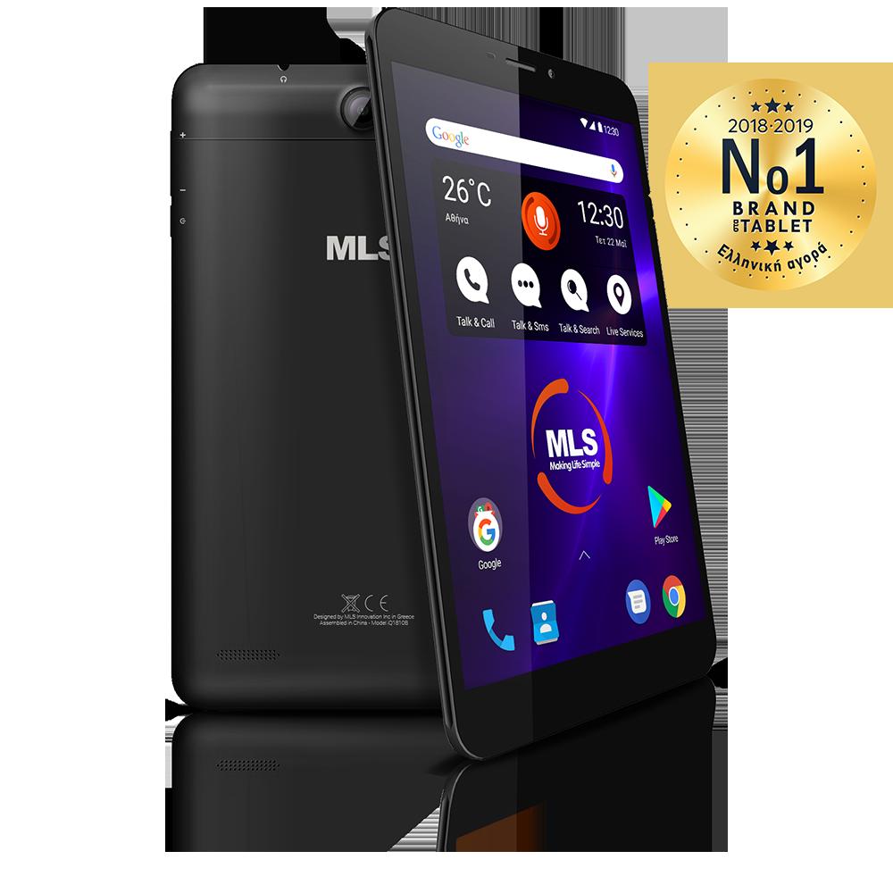 MLS iQTab Novel 3G black Tablet