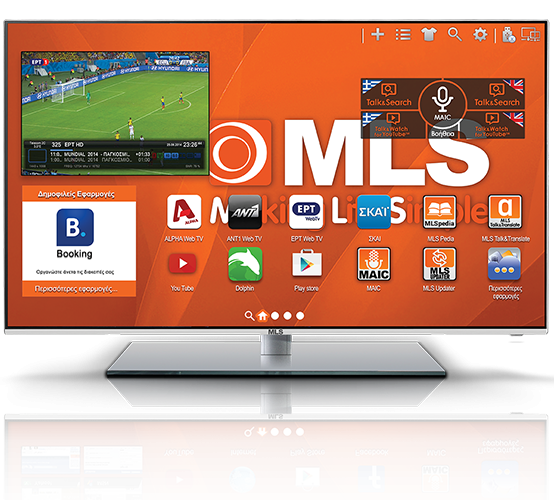 """MLS SuperSmart TV 49"""""""