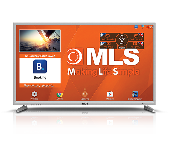"MLS Super SmartTV 32"" B"