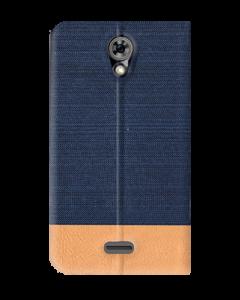 Flip Case MLS iQTalk Verse 4G Μπλε