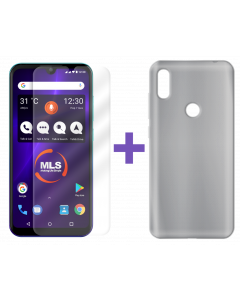 Θήκη σιλικόνης MLS Notch Sense + protective film