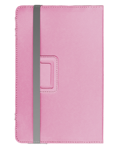 "Universal Leather Case 8"" Pink"